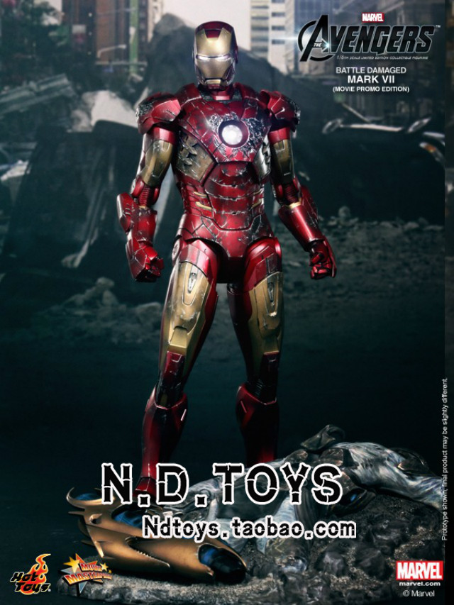 Военные игрушки для детей Hot Toys Hottoys HT 1/6 MK7 hot toys hottoys ht mms209 1 6 iron man model tony stark the mechanic collectible figure specification new box in stock