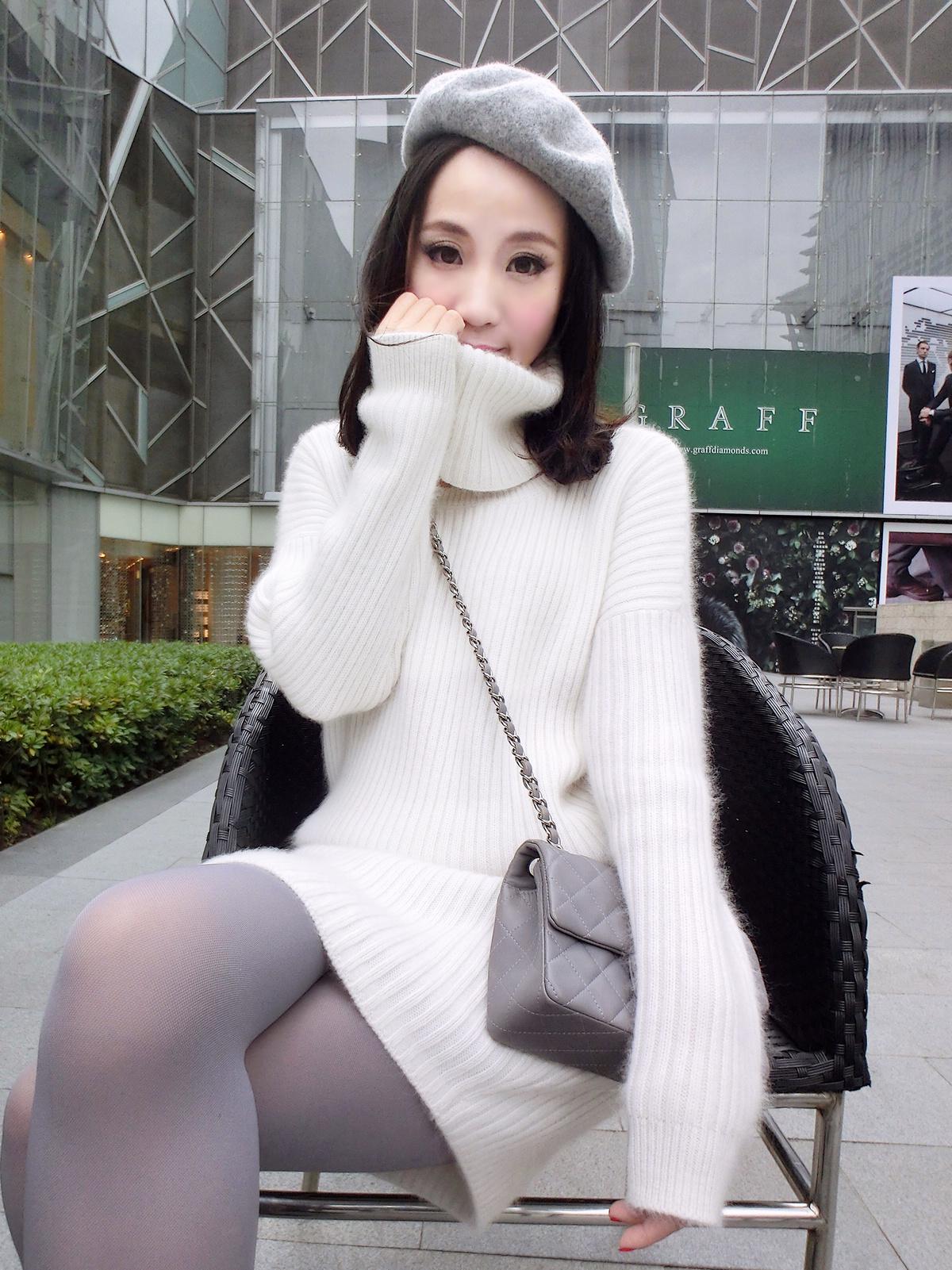 Свитер женский   *2014 женскаякостюммиккимаус свитер платье 2014