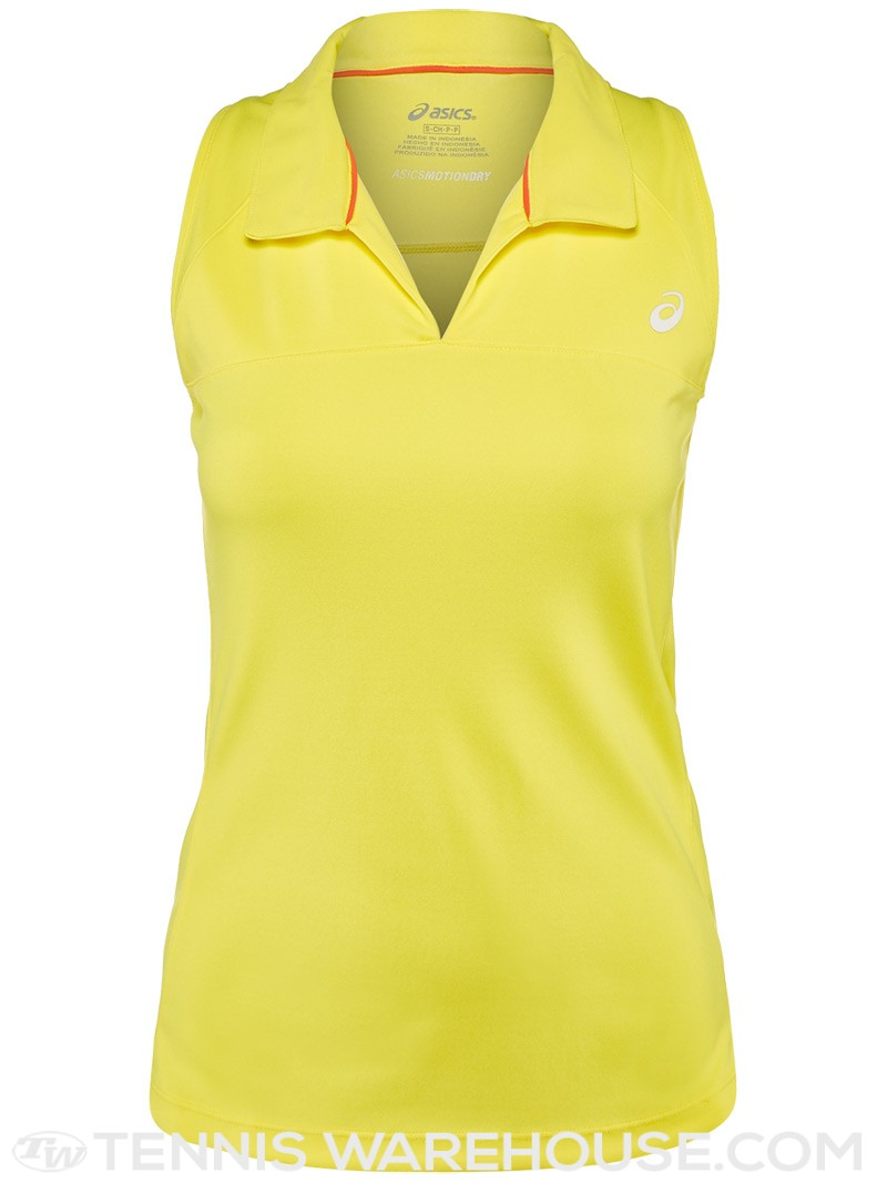 Спортивная одежда для тенниса Asics ASICS Women's Spring Club Sleeveless Polo98 asics asics oversized tank