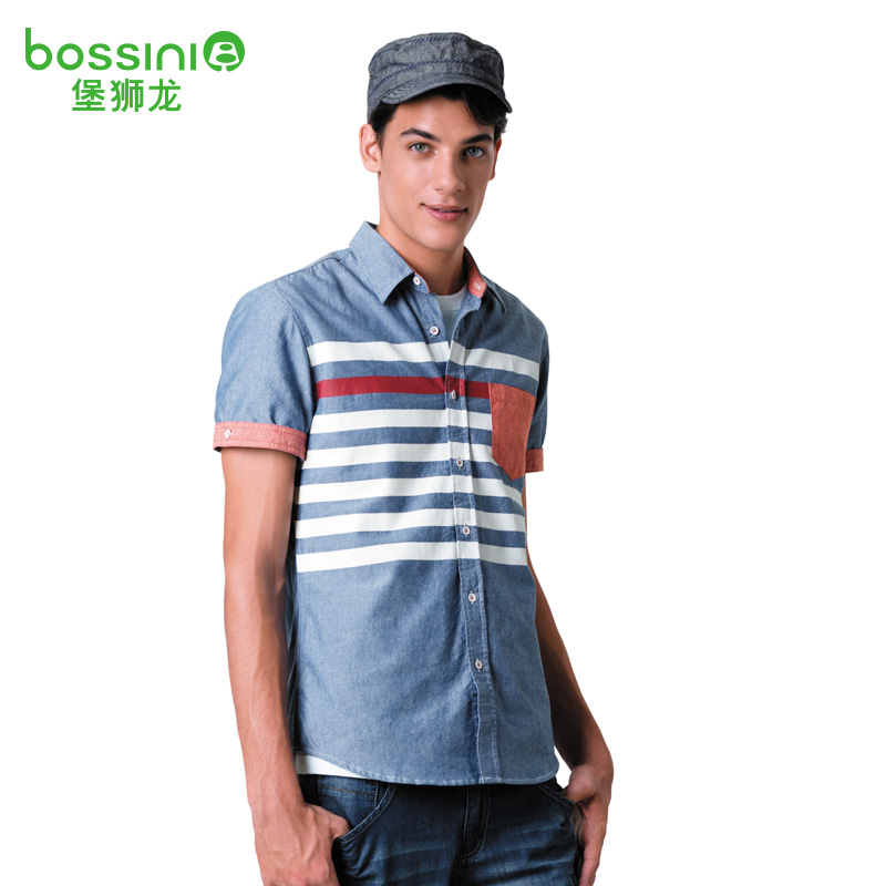 Рубашка мужская Bossini 611040000 bossini брюки bossini 51 41290 00 990 черный