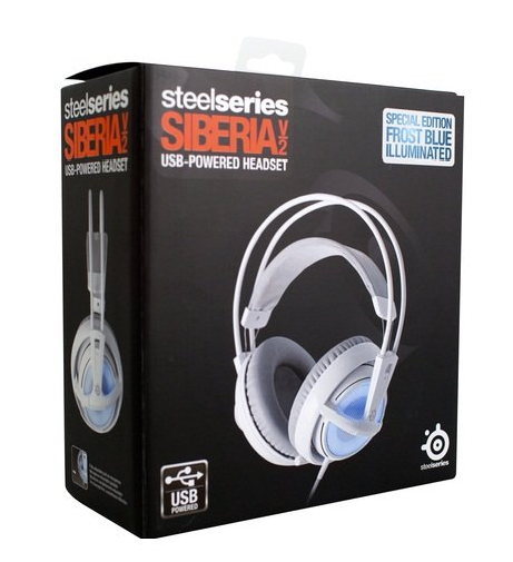 цена на Наушники Steelseries  Siberia V2 USB
