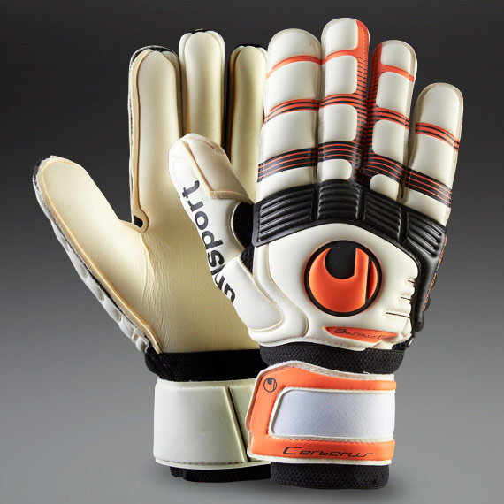 перчатки вратаря Uhlsport  Eliminator Aquasoft RF uhlsport eliminator soft supportframe goalkeeper gloves