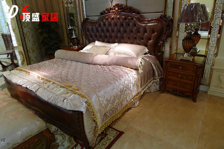 Кровать из массива дерева Factory standard  1.8 кровать из массива дерева xuan elegance furniture