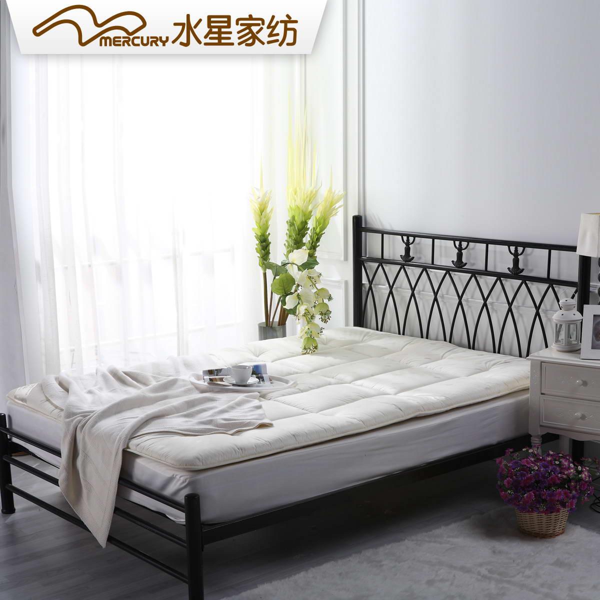 水星家纺羊毛床垫103074