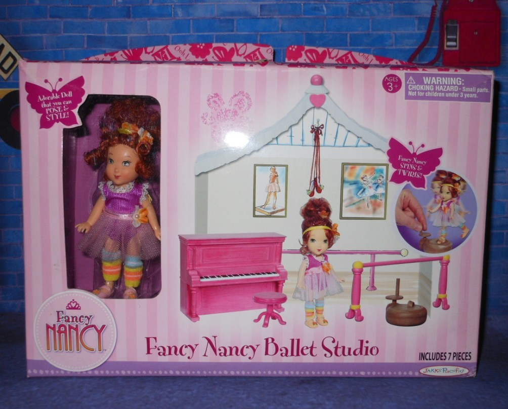 кукла Barbie  FANCY NANCY Ballet Studio Set Mini Doll nancy кукла нэнси ловит бабочек nancy page 1