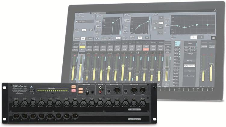 Микшерный пульт   PreSonus StudioLive RM16AI 16 аналоговый микшер presonus studiolive ar16 usb