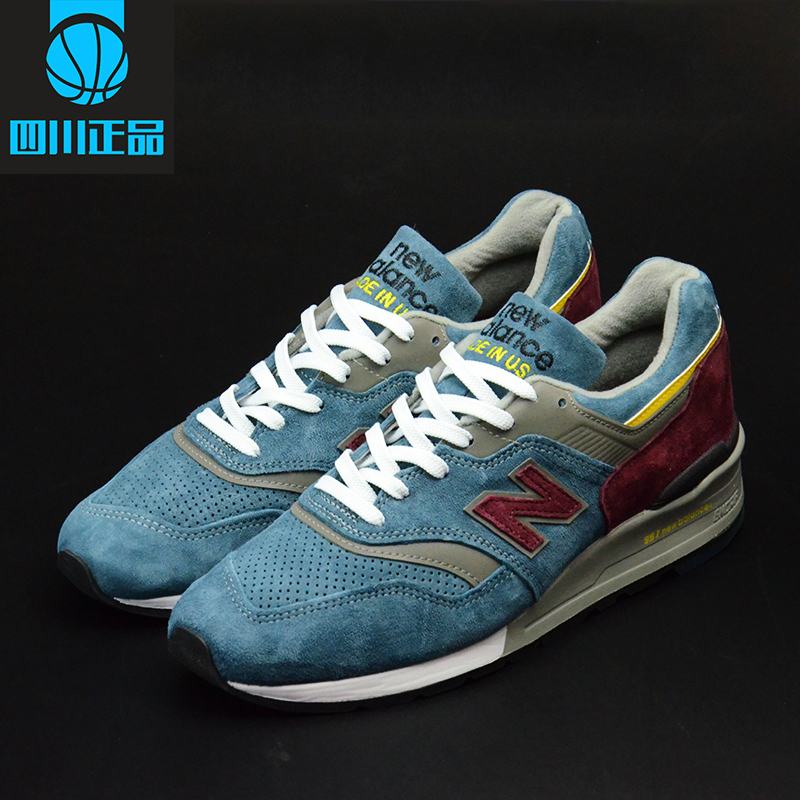 Кроссовки New Balance New*Balance NB997 M997DTE 6 5 adult electric scooter hoverboard skateboard overboard smart balance skateboard balance board giroskuter or oxboard