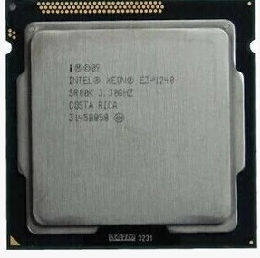 Процессор Intel Xeon E3-1240 3.3G CPU процессор intel xeon e3 1220 lga1155 cpu