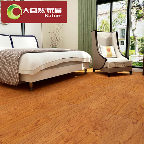 【实木复合地板】_环保仿古木地板图片
