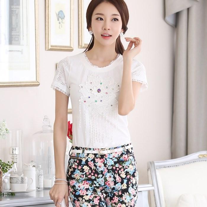Блузка Solo 6755# 015 блузки solo farfalle блузка