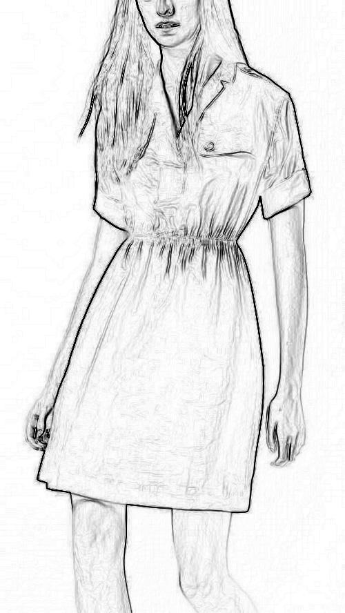 Женское платье Burberry  39680811 burberry кружевное платье