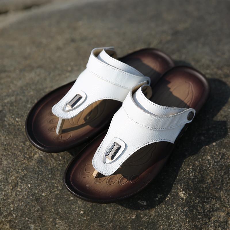Сандали сандали кожаные