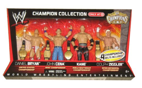 Сувенир   Mattel WWE Wrestling Exclusive Champion Collection Action Fi mattel mattel кукла ever after high мишель мермейд