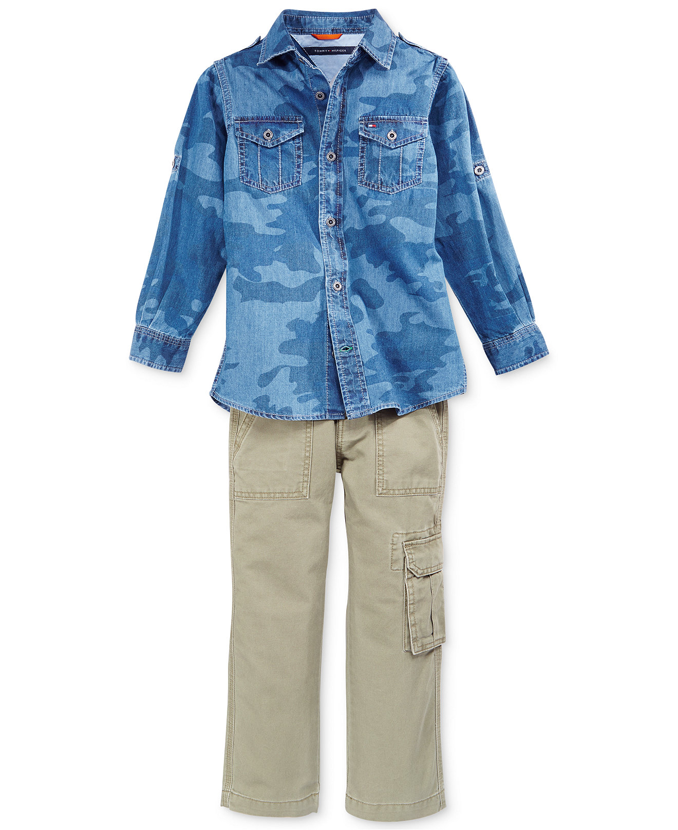 Рубашка детская Tommy hilfiger  2015 ML футболка детская tommy hilfiger 2015 polo ml