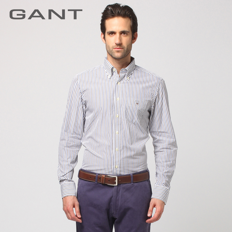 Рубашка мужская Gant 307250 gant часы gant w70471 коллекция crofton