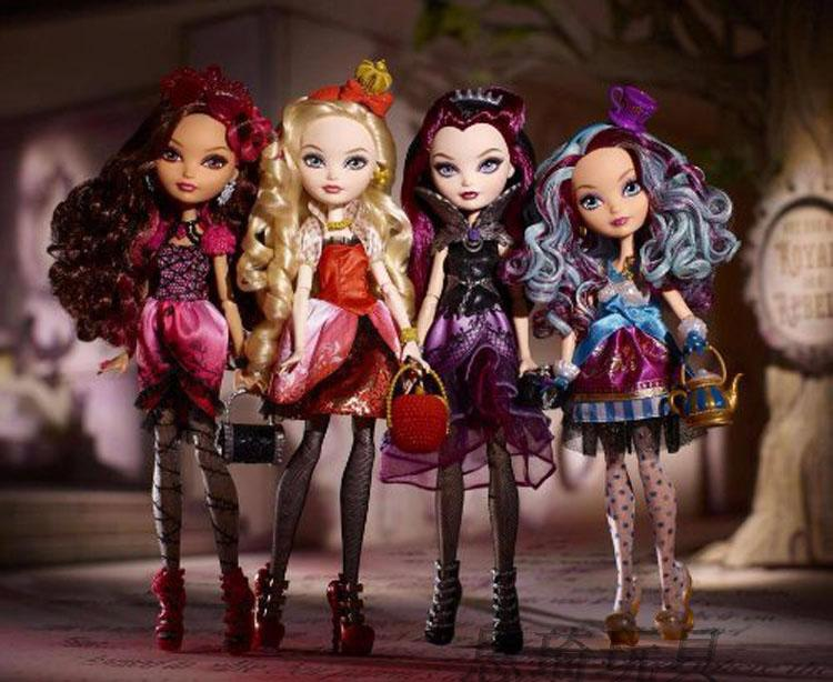 кукла The United States and Thailand  Ever After High touch of dead
