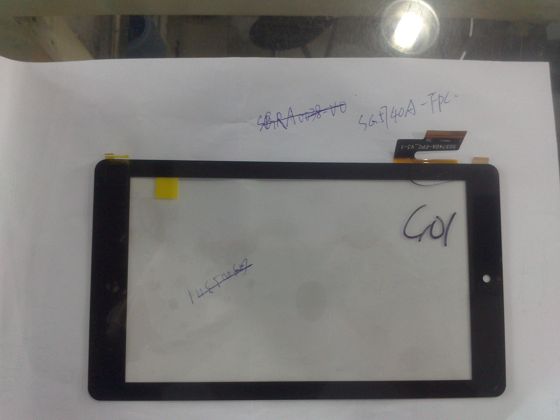 Запчасти для мобильных телефонов 7 inch new handwriting Tablet capacitive touch screen screen screen number is sg5740a/fpc_v3/1 SG5740A-FPC_V3-1 original new offer touch screen 4 5 inch gt1030 lwd c gt1020 lbd c warranty for 1 year
