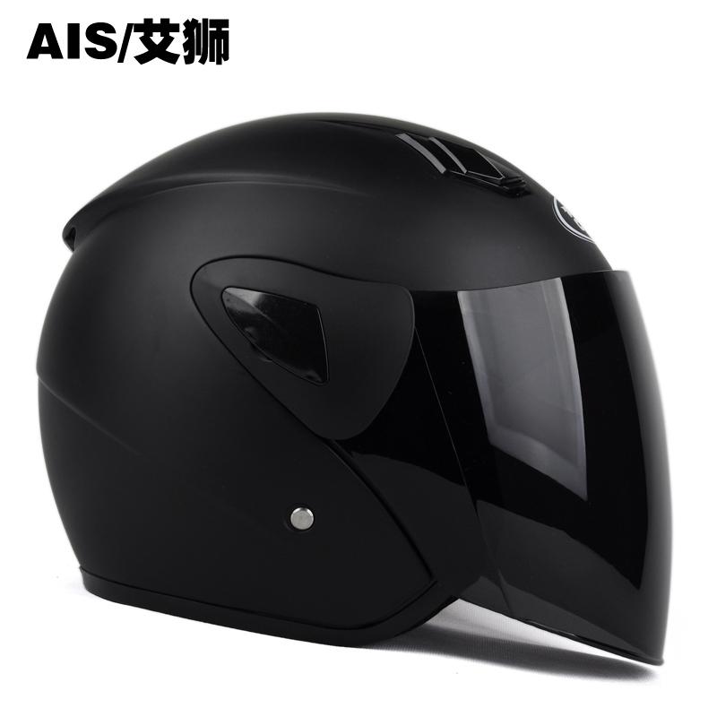 мото шлем Ais  701 спб купить мото шлем открытый