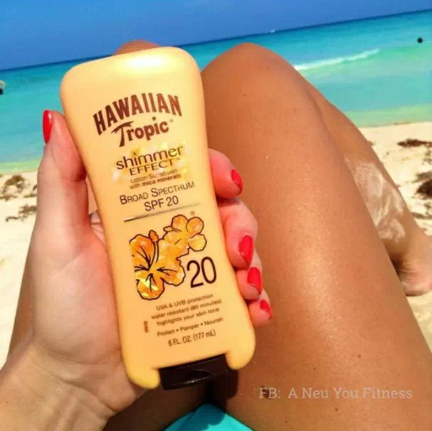 Hawaiian tropic SPF20 BlingBling tropic of capricorn