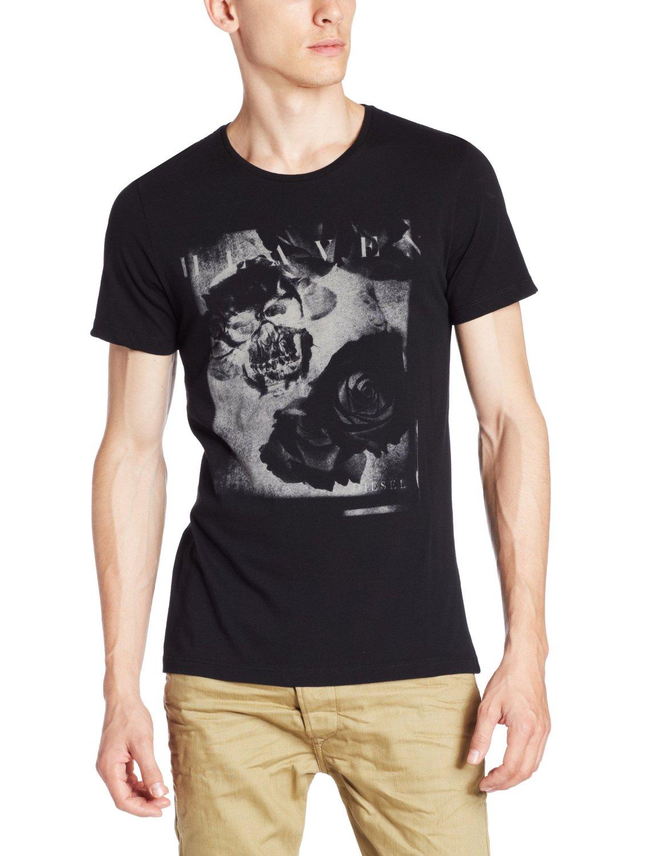 Футболка мужская Diesel футболка мужская diesel 0421807741482 sakb2298
