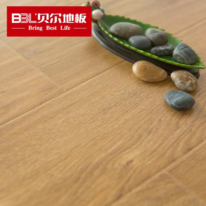 贝尔 强化复合木地板 苹果负离子地板