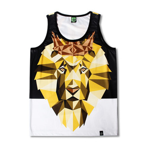 Безрукавка STAGE Lion King Tank Top free shipping 10pcs mp8795as