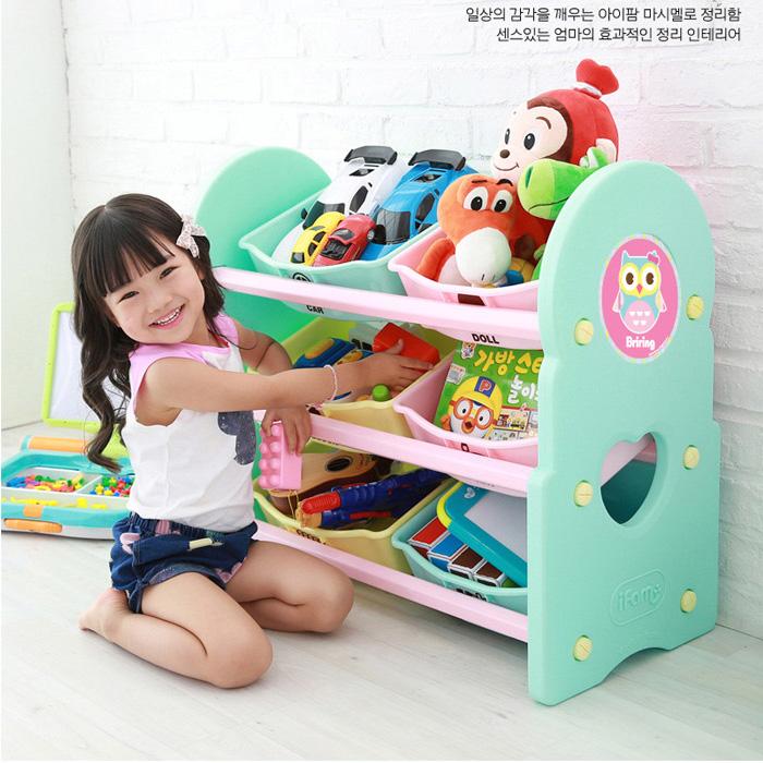 Стойки и коробки для детских игрушек   2014 Ifam