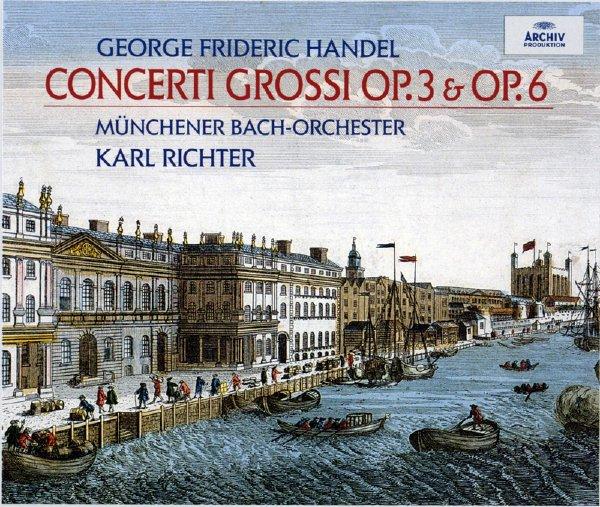 Музыка CD, DVD   Handel OP.3 OP.6 Karl Richter ARCHIV 4CD стинг sting 25 years 3 cd dvd