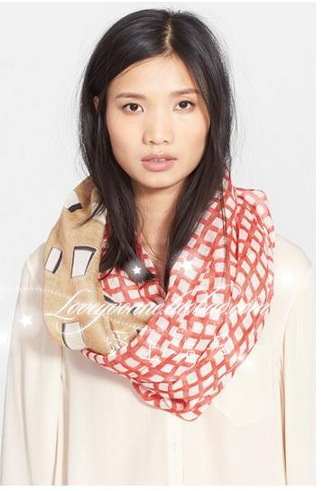 шарф   Tory Burch Mixed Plaid Infinity Scarf бумажник tory burch nms15 v2dpd