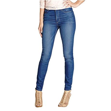 Джинсы женские Guess Guess 1981 High-rise Skinny Jeans guess shoes jeans pumps
