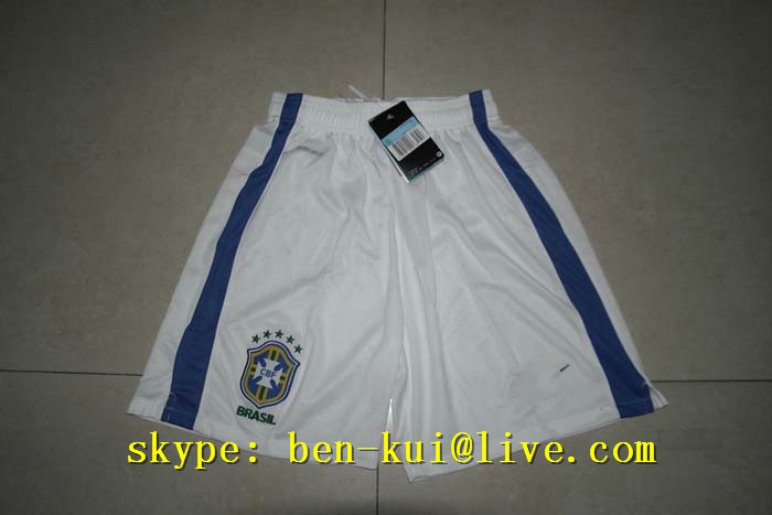Футбольная форма   2014 Brazil World Cups Football Home White Short/pants brazil football fans caxirola cheer horn for 2014 world cup