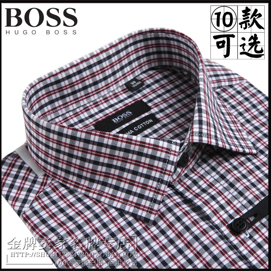 где купить Рубашка мужская Hugo Boss  2015 по лучшей цене