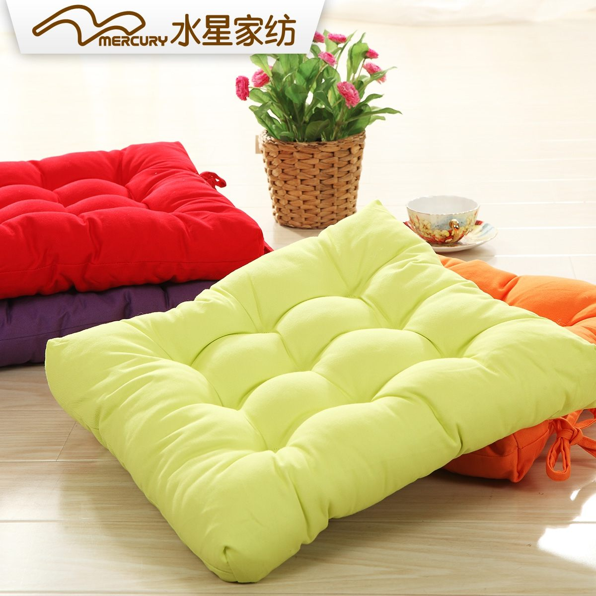 水星家纺坐垫106805