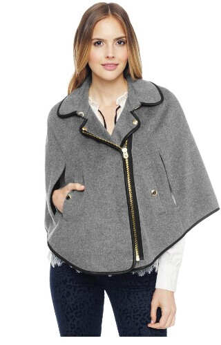 женское пальто JUICY Couture  BRUSHED WOOL CAPE moschino couture сандалии