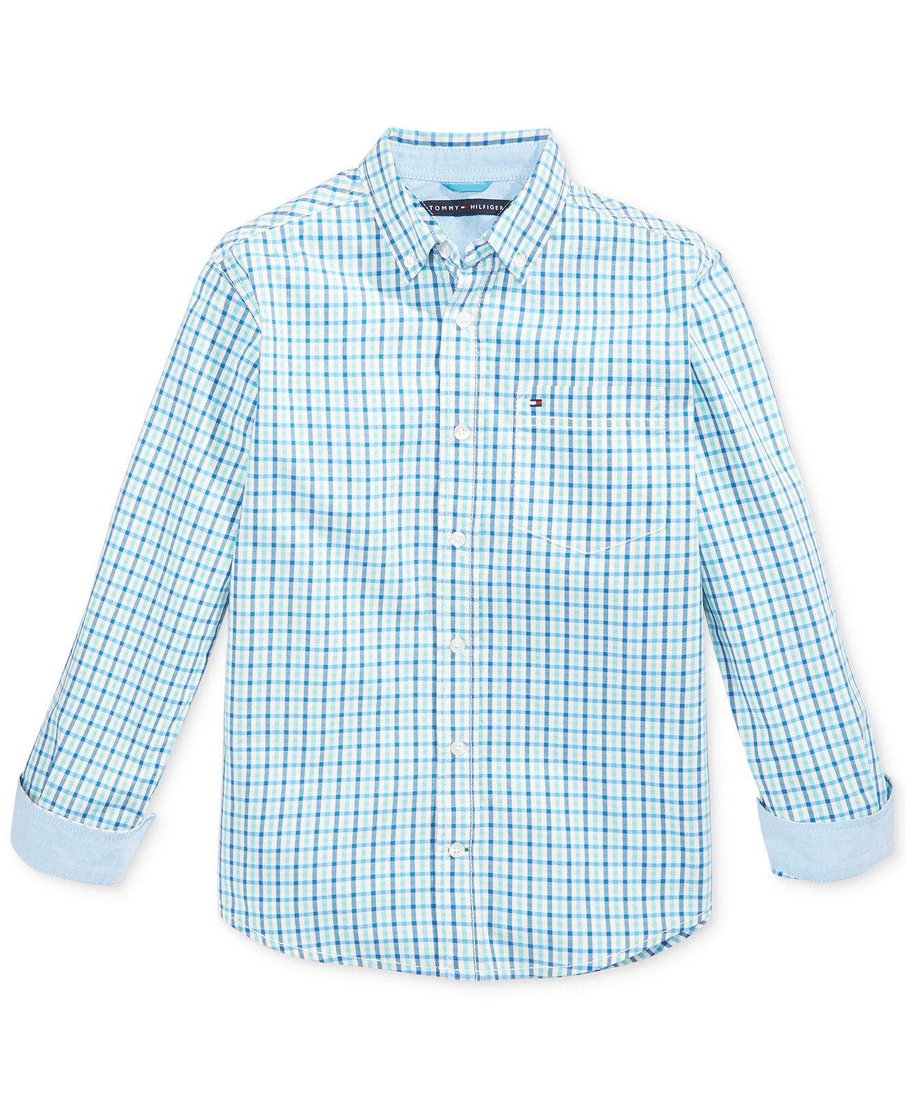 Рубашка детская Tommy hilfiger  2015 футболка детская tommy hilfiger 2015 polo ml