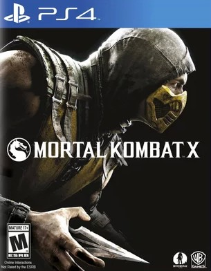 Игра для PS   PS4 Mortal Kombat