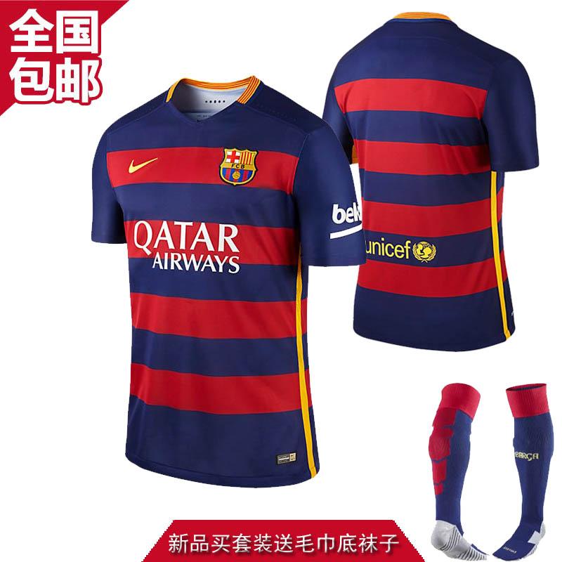 Футбольная форма Barcelona 15/16 home  15-16 10 11 футбольная форма made in china top thain barcelona 15 16 home soccer jersey 11 neymar jr