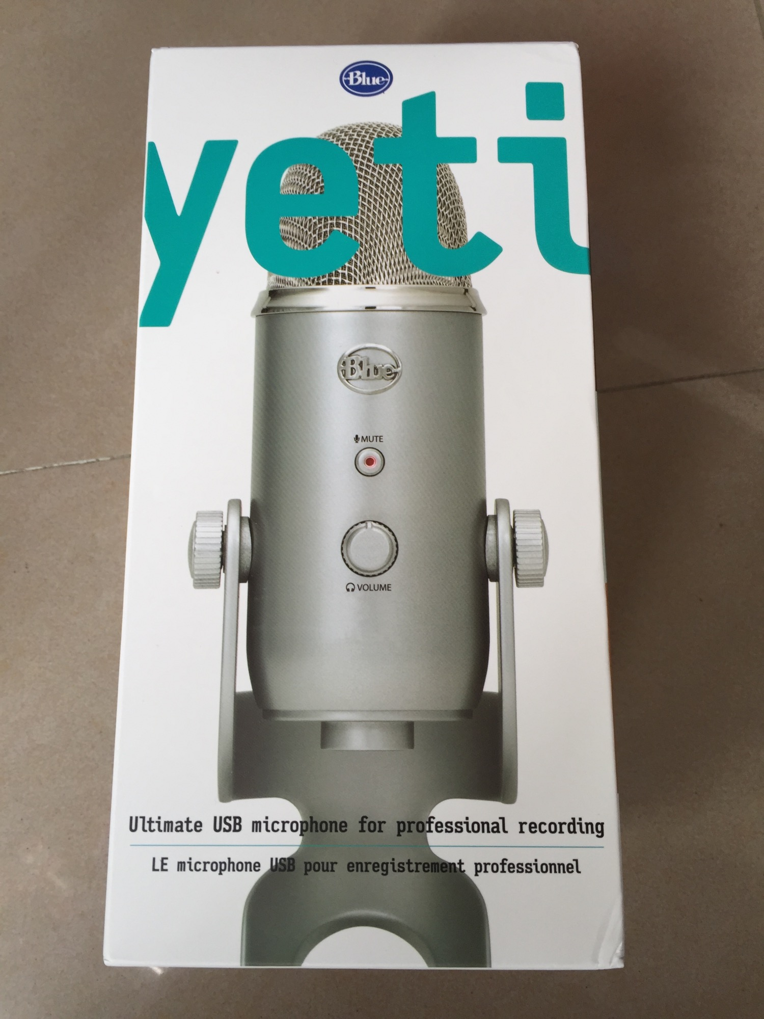 Микрофон Blue  Microphones Yeti USB микрофон blue microphones yeti pro usb yy