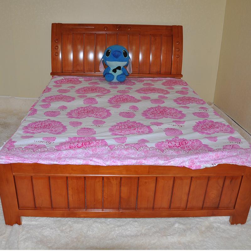 Кровать из массива дерева Changsheng Wood 1.5 1.8 кровать из массива дерева solid wood bed 1 21 51 8