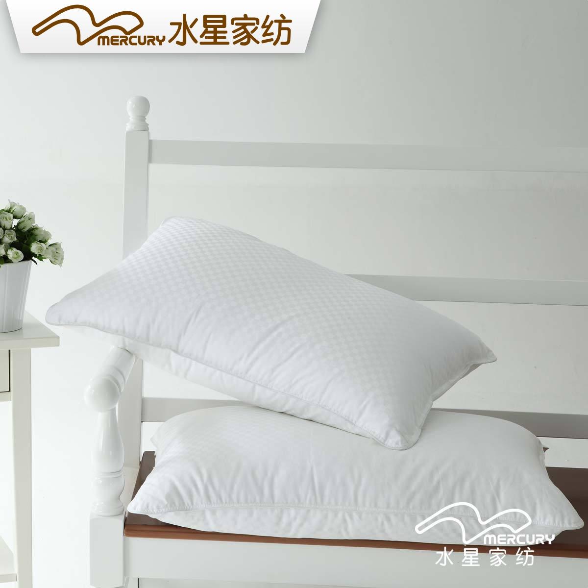 水星家纺全棉提花枕芯501235