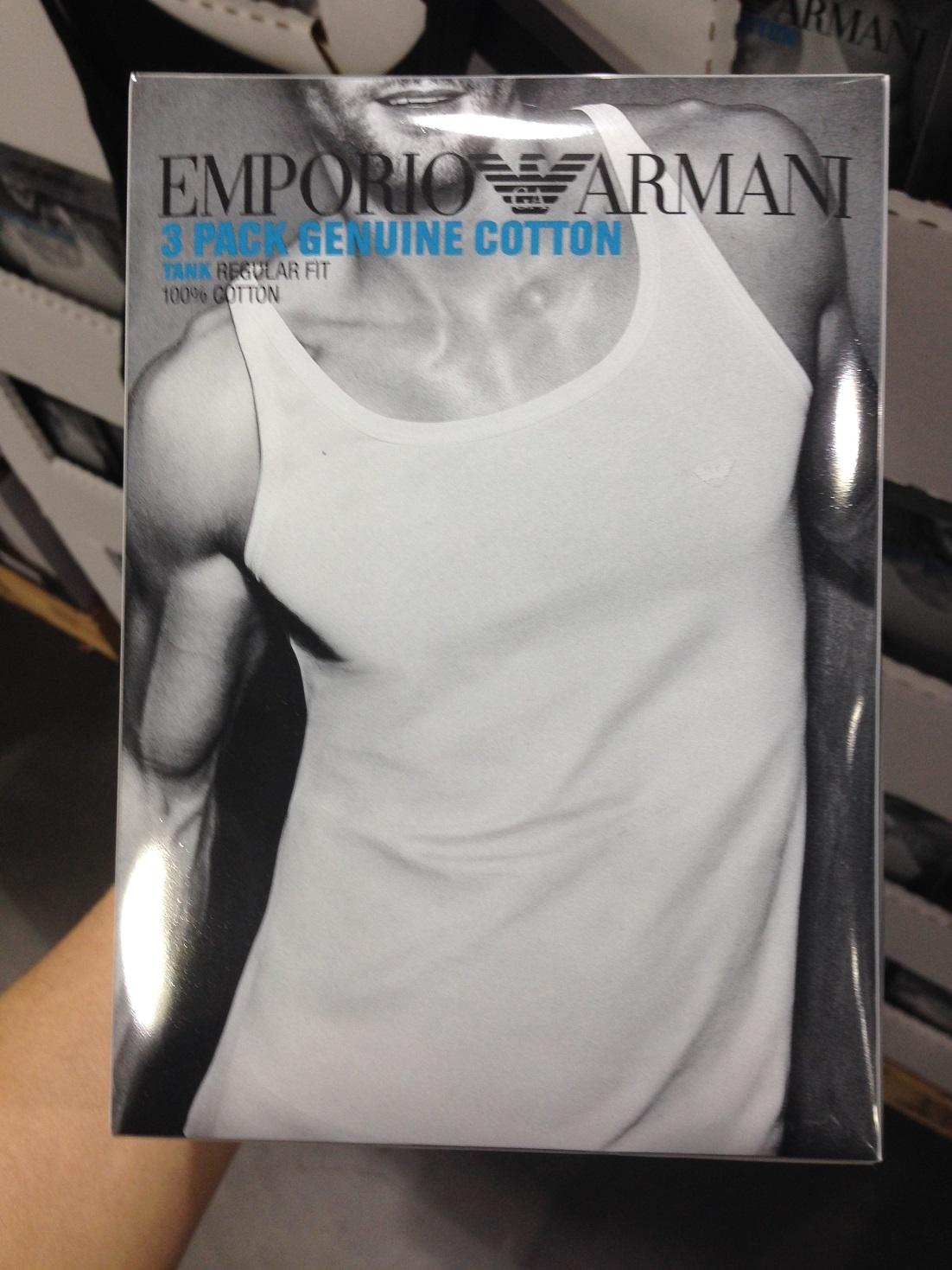 Майка Emporio Armani комплект трусов emporio armani 111210 7a504 46635
