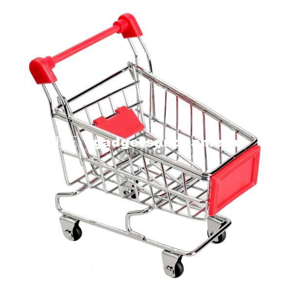 Mini Supermarket Handcart Shopping Utility Cart Mode Storage