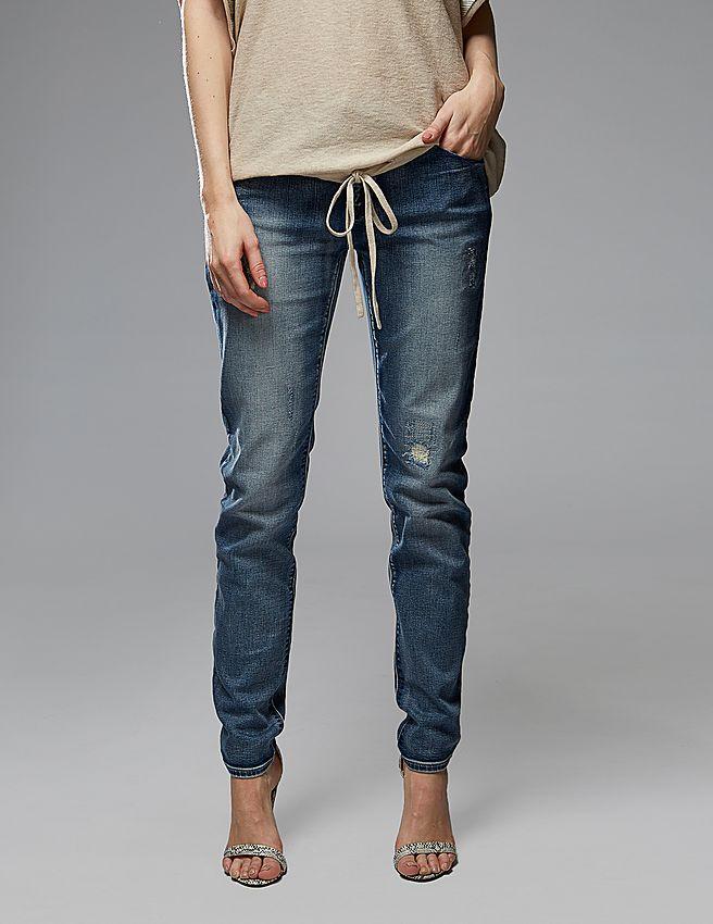 Джинсы женские Armani TES/170235 Jeans MID RISE джинсы женские mavi jeans alexa mid rise skinny