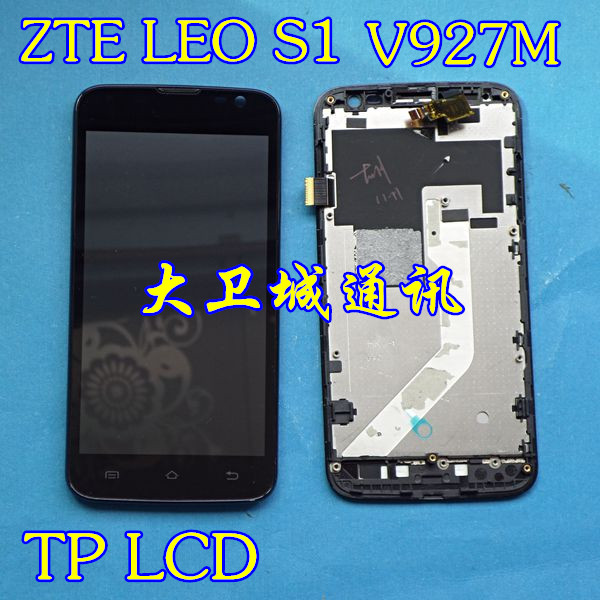 Запчасти для мобильных телефонов ZTE  LEO S1 V927m Tp Lcd запчасти для мобильных телефонов zte v5 v9180 n918st nx501 nx505 nx503