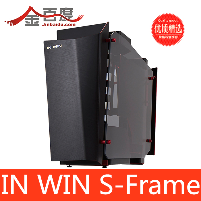 Корпус для ПК In Win  S-Frame корпус in win emr035 silver black