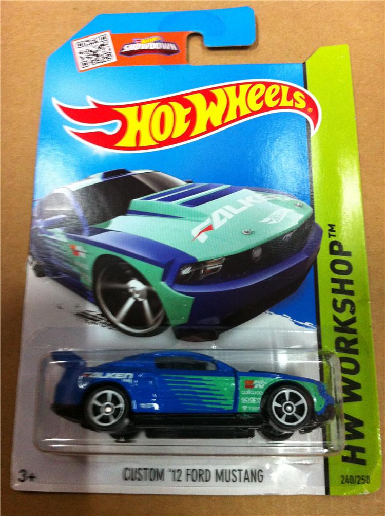 Модель машины Hot wheels Hotwheels CUSTOM 12 FORD MUSTANG 240/250 hot wheels hotwheels мальчик игрушка сплава автомобиль автомобиль пять загружен 7 роль djp17