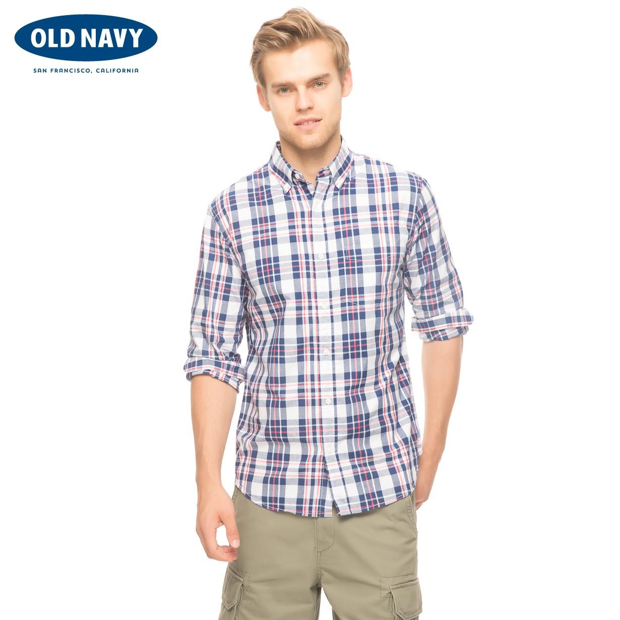 Рубашка мужская OLD NAVY 000438245 438245 джинсы мужские navy old