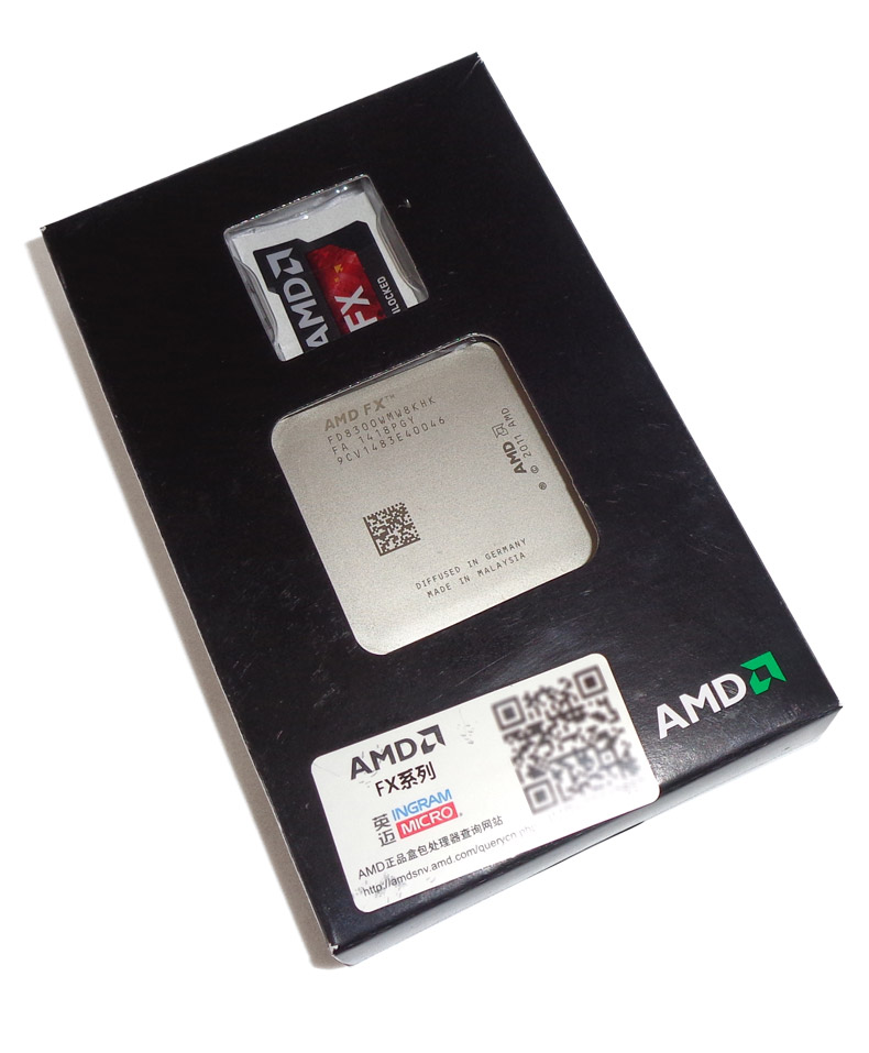 Процессор Amd  FX-8300 CPU 3.3G AM3+ 95W
