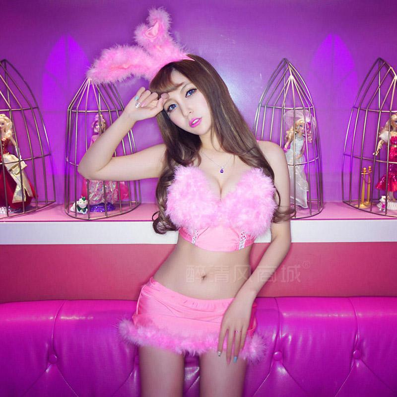 Комплект эротического нижнего белья Luo Ying 8550 боди christmas girl s m