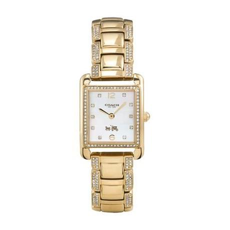 Часы Coach  Page Gold Plated Bracelet кольца page 1